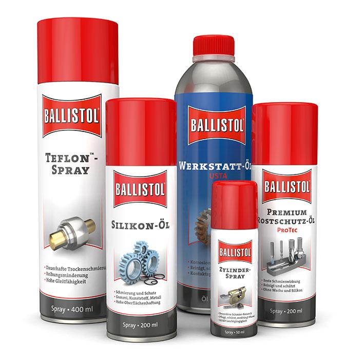 BALLISTOL siliconenolie - siliconenspray, 200 ml