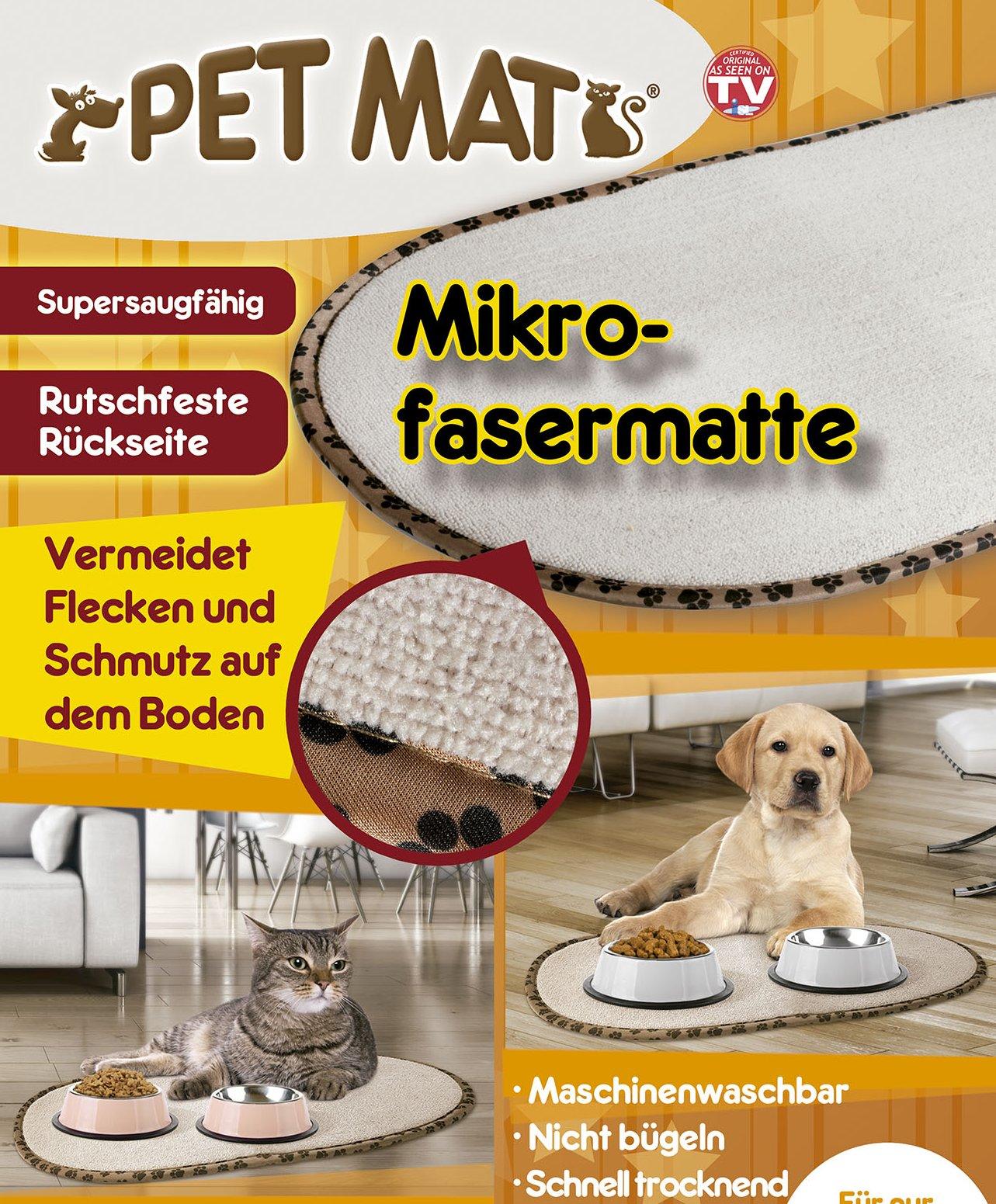 Pet Mats - Die Schmutzfangmatte für Haustiere - 2er-Vorteilsset