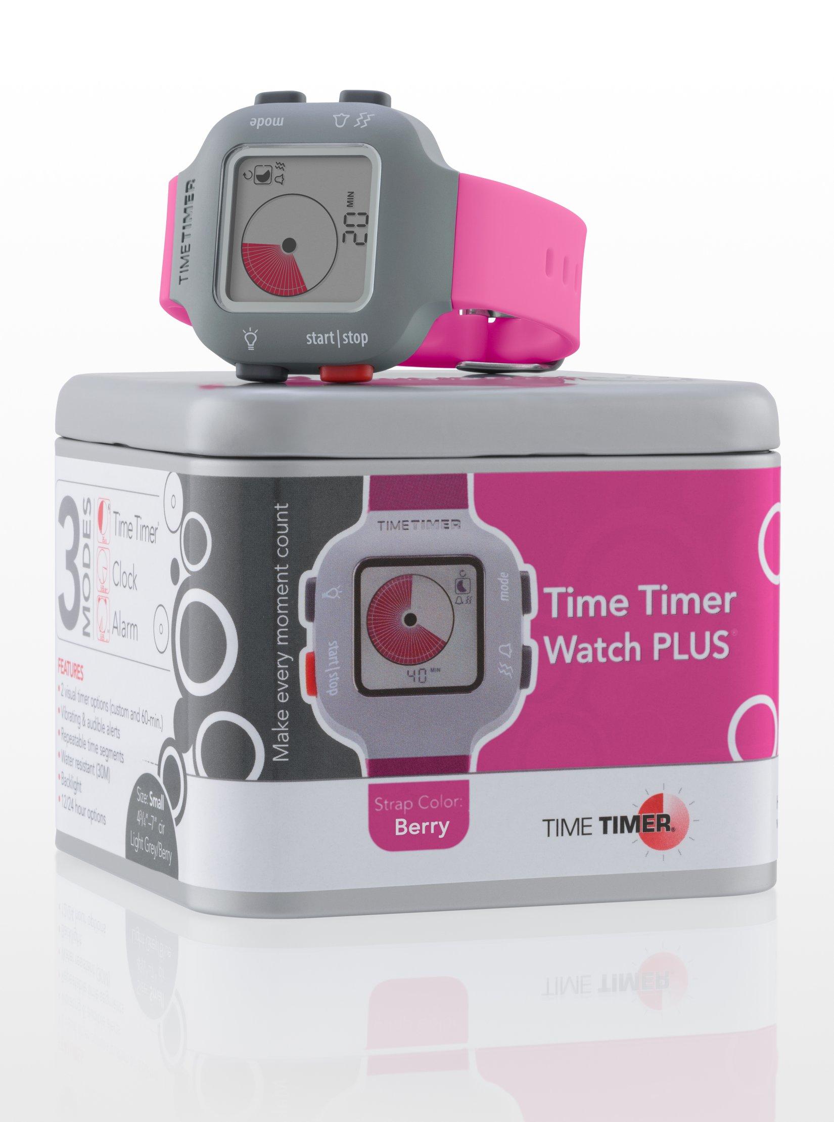 TIME TIMER Armbanduhr, pink