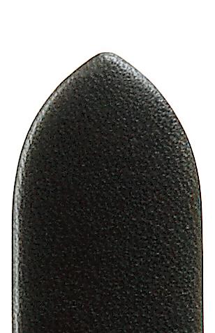 Lederband Echtleder glatt 18mm schwarz