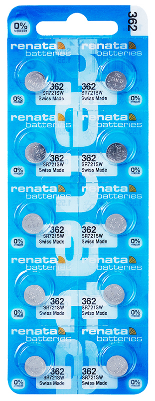Renata 362 knoopcel multipack