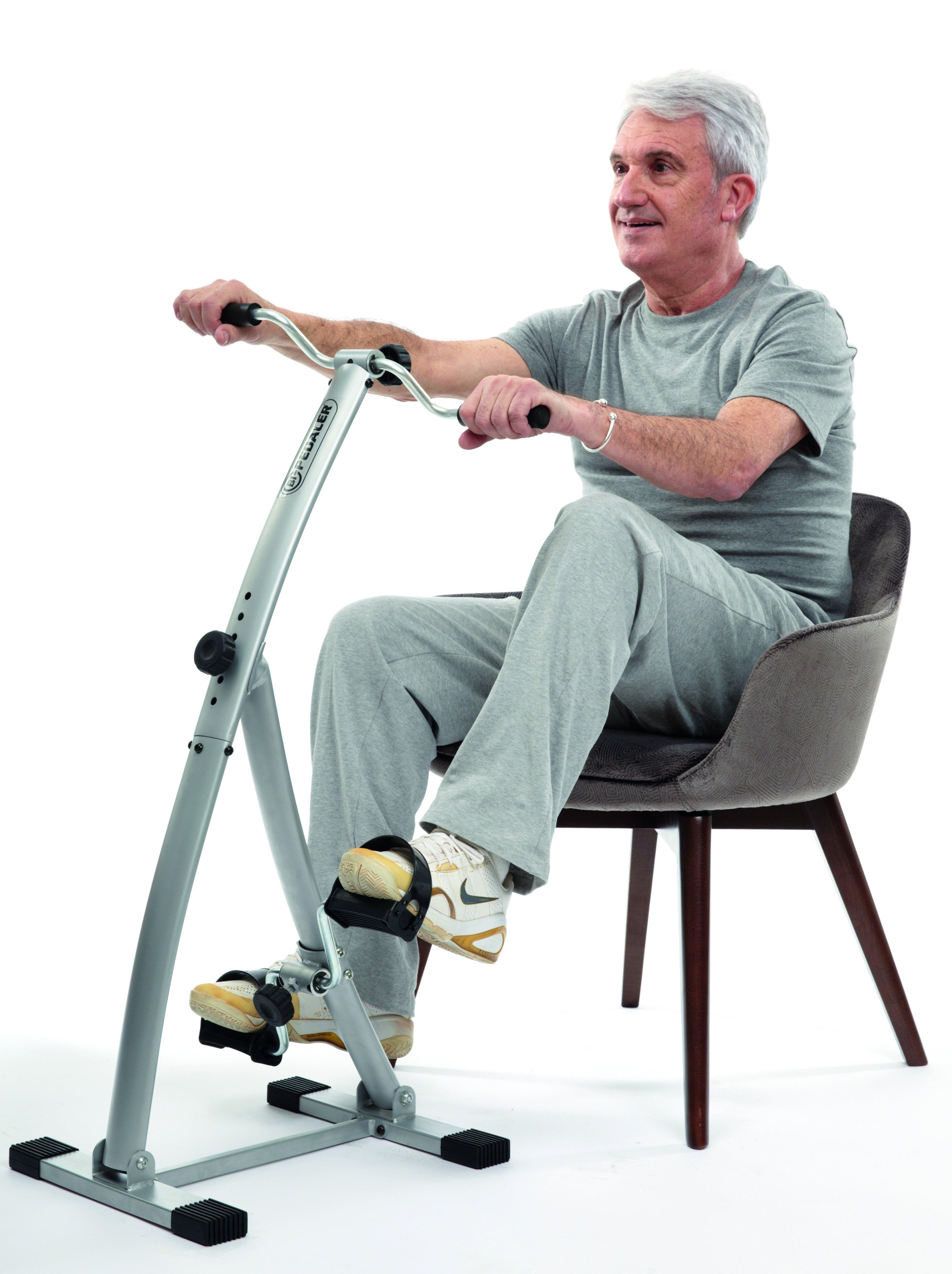 Bi-Pedaler trainingsapparaat voor thuis