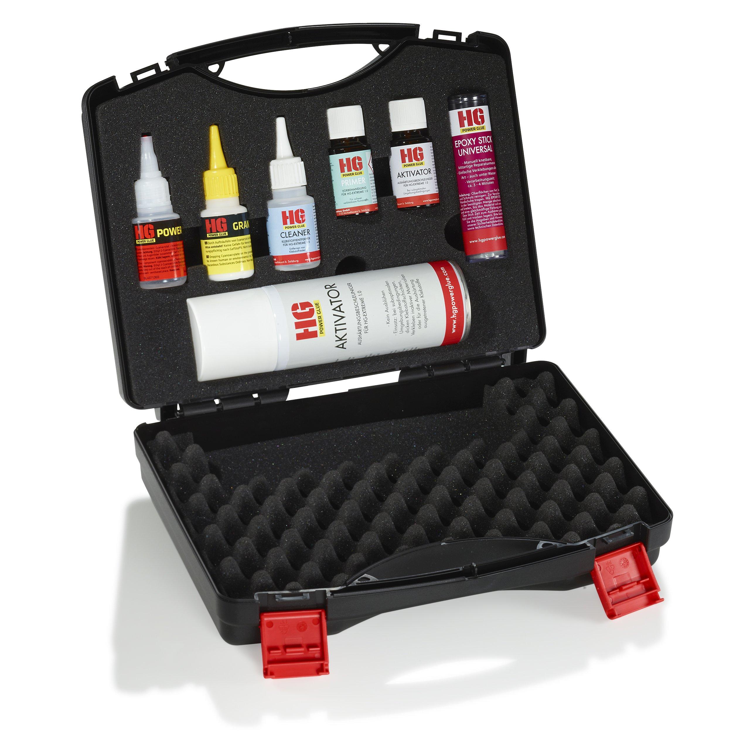 Die Schweißnaht aus der Flasche - XXL Koffer Komplett-Set