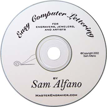 CD Easy Computer Lettering