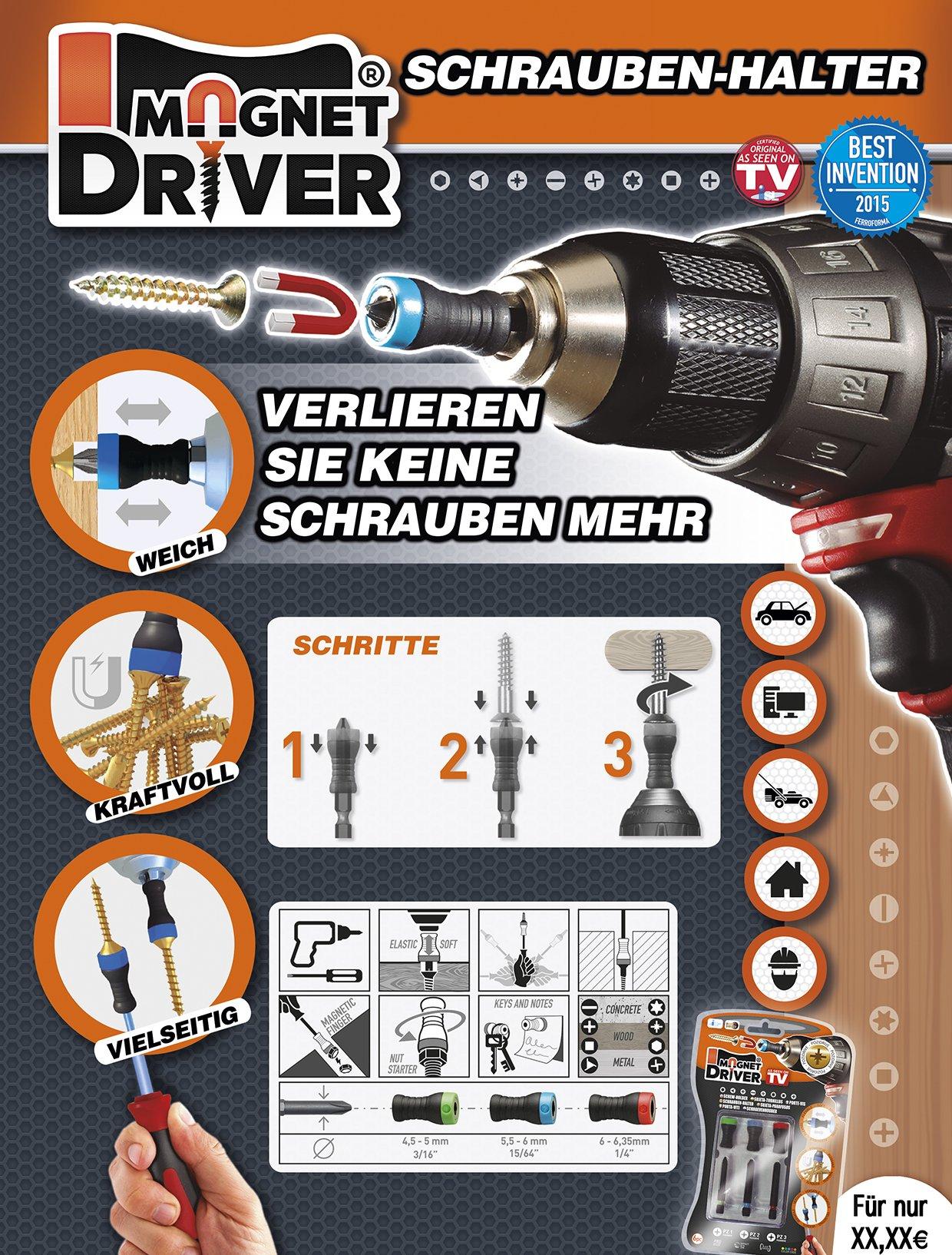 Magnet Driver schroevenhouder