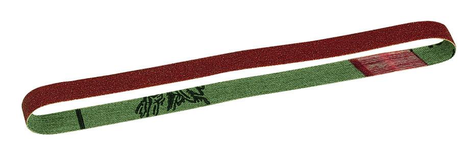 Schleifbänder Edel-Korund für Bandschleifgerät BS/E, Korn 120