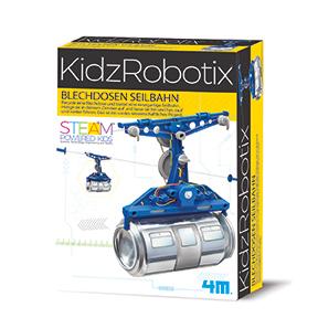 KidzRobotix Blechdosen Seilbahn