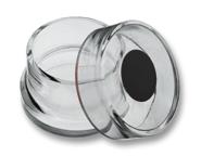 Glasbehälter schwarz Wieland