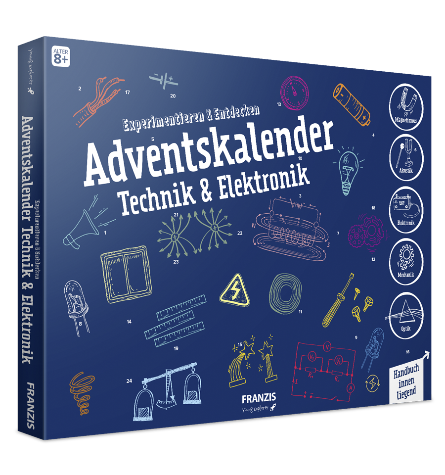 Adventskalender Technik und Elektronik