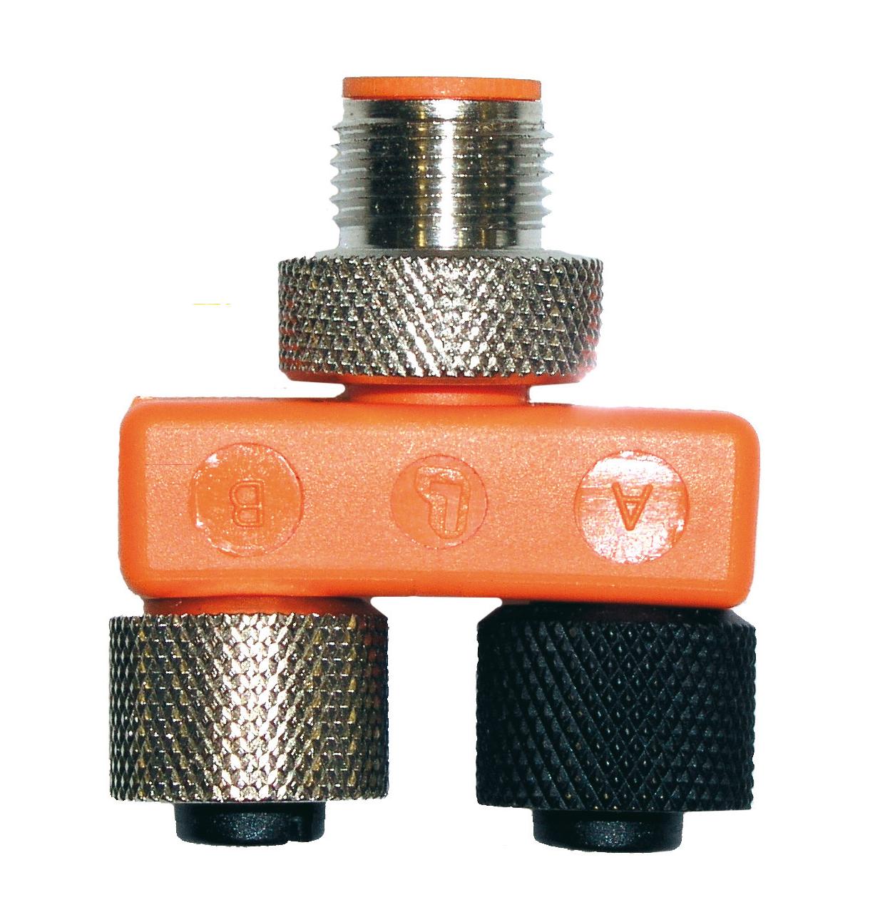 T-Stecker für Shutteranschluss für PUK Optikeinheit + Mikroskop
