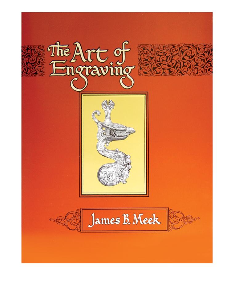 boek The Art of Engraving in het Engels, 196 bladzijden