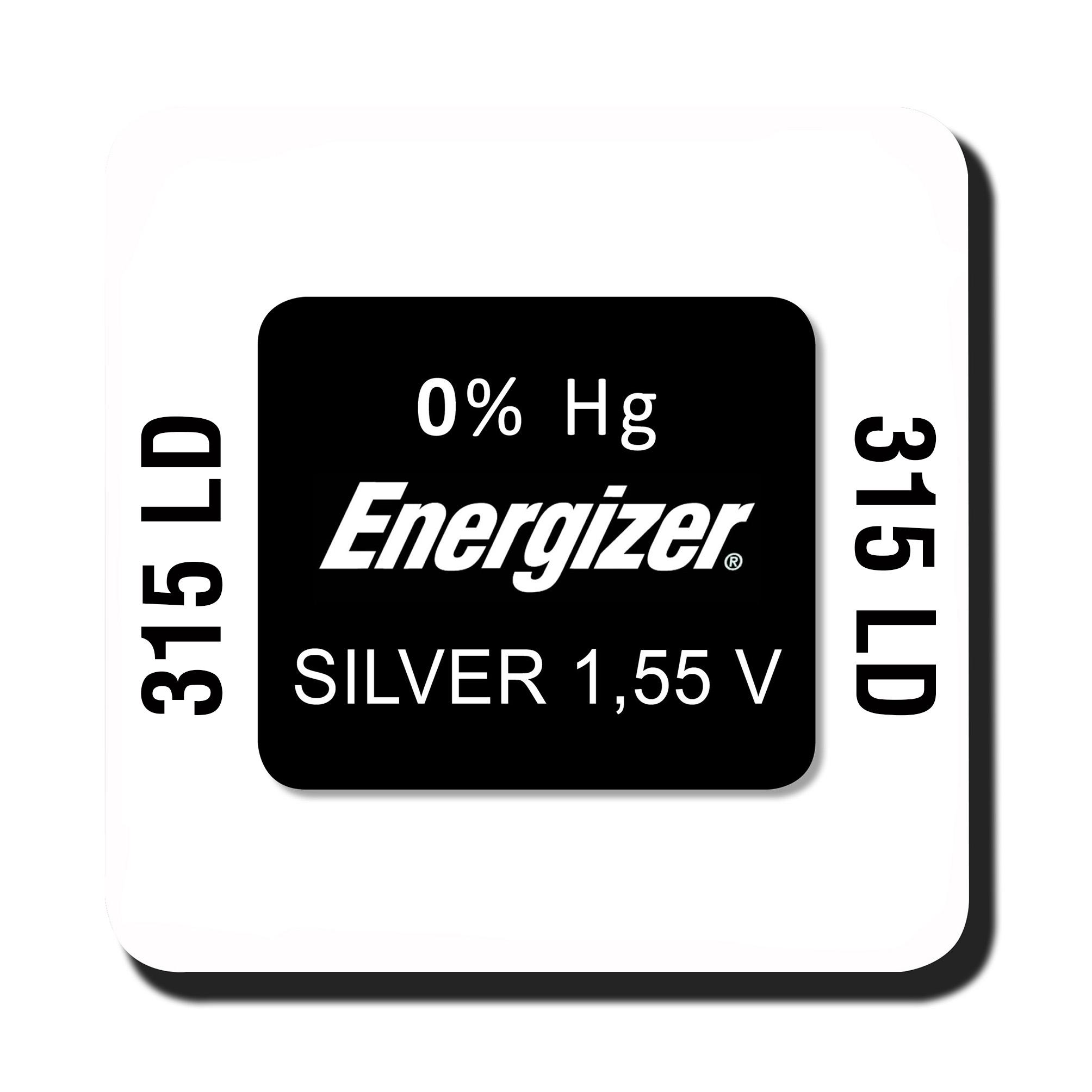 Energizer 315 knoopcel