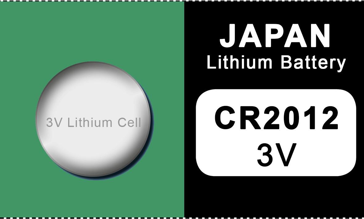 Japan 2012 lithium knoopcel