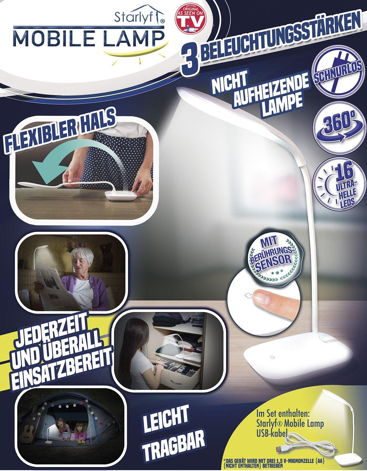 LED-Leuchte, flexibel & kabellos
