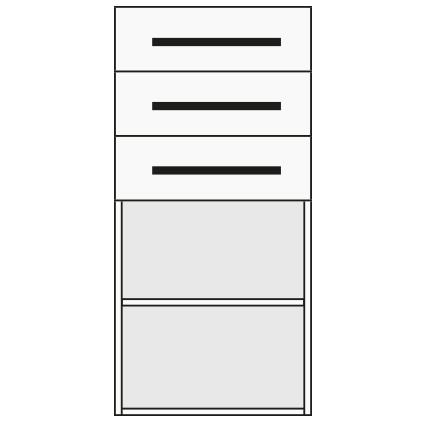 Benchalist Container Nr. 12 für Einbau Druckluft-Verkabelung