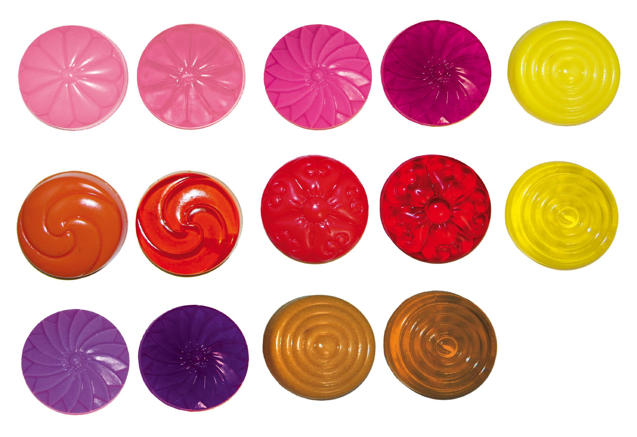 Seifenfarben transparent - 12er-Set