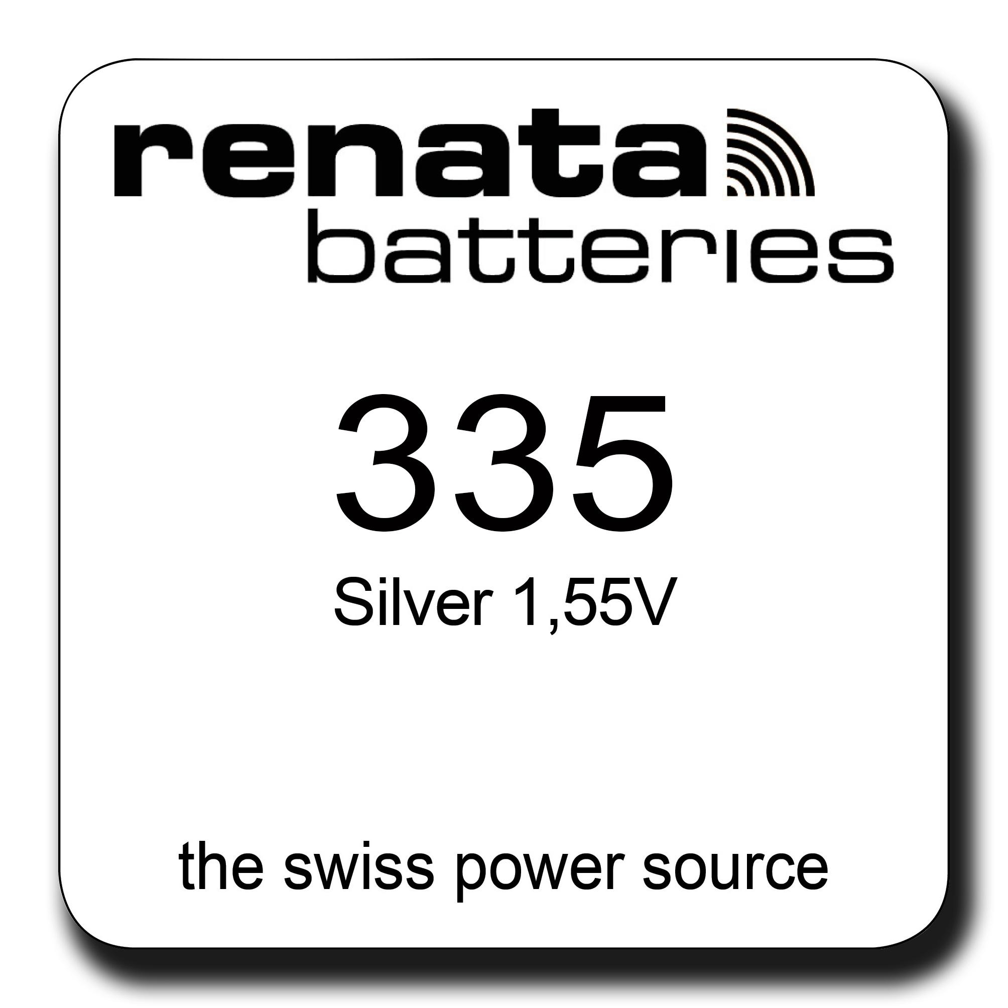 Renata 335 Knopfzelle