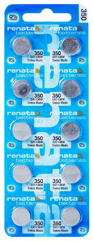 Renata 350 knoopcel multipack