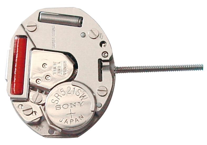horloge uurwerk kwarts Ronda 751, std.-H 0,95 standaard