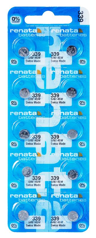 Renata 339 knoopcel multipack