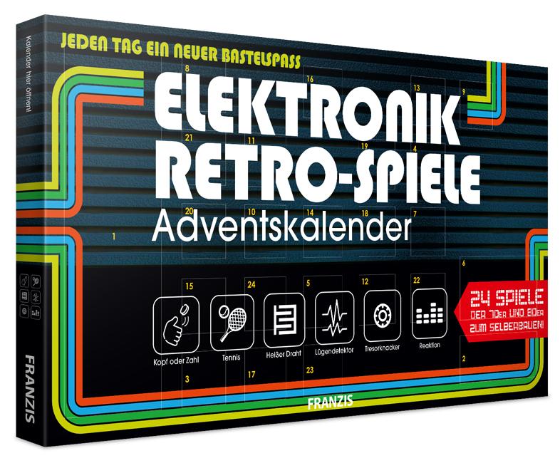 Adventskalender Retrospiele / Elektronikspiele