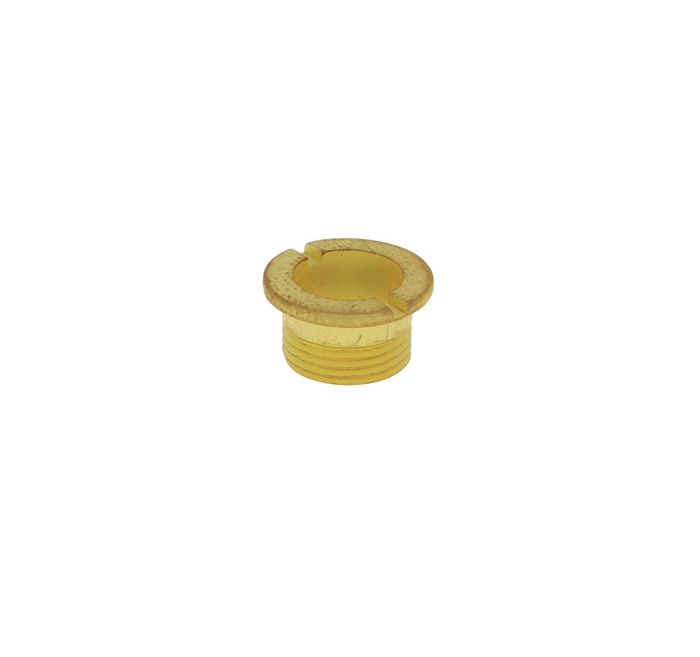 Centrale schroef M10 x 0,75 geel, kort