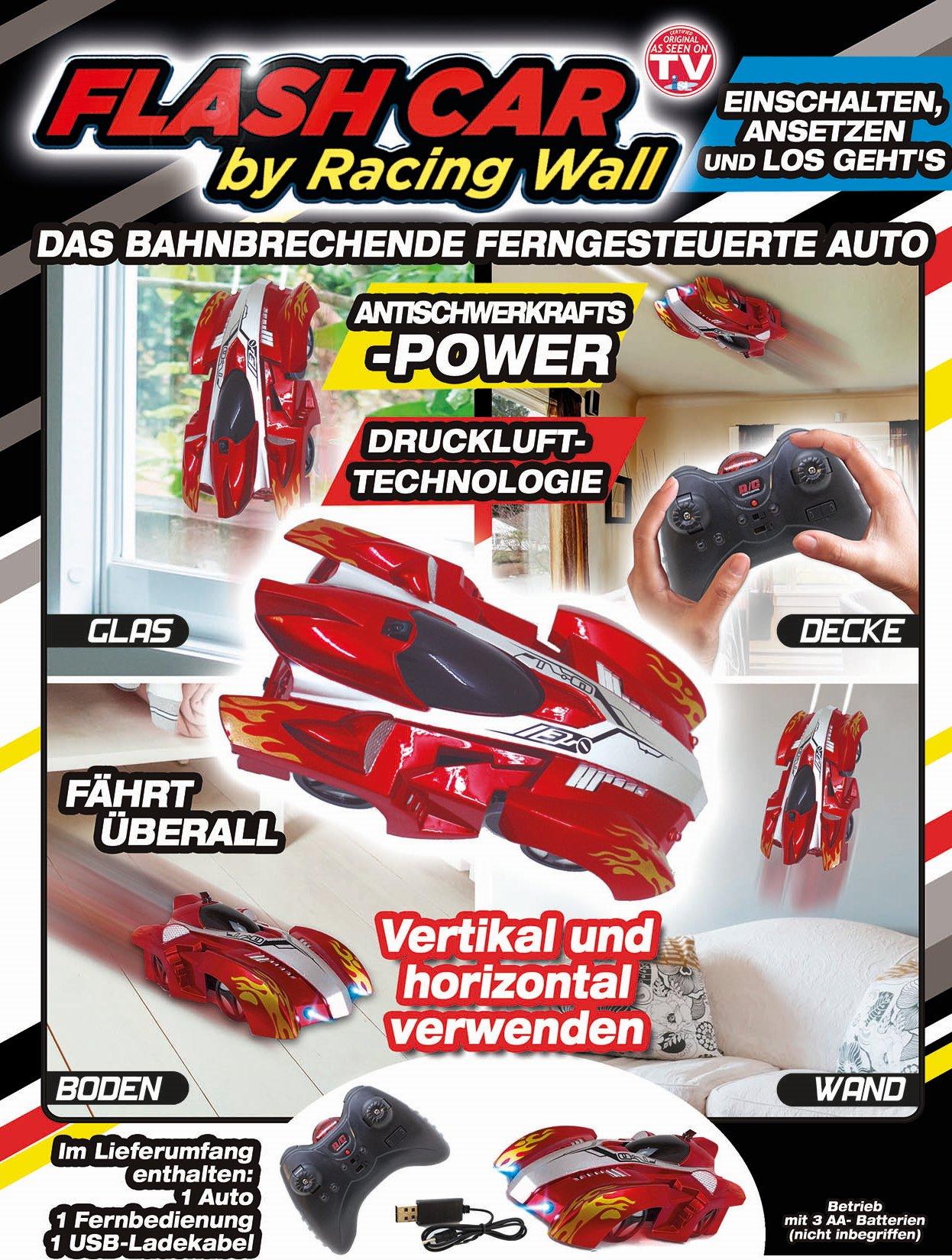 Flash Car by Racing Wall - fährt überall - spektakulär