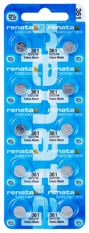 Renata 361 knoopcel multipack