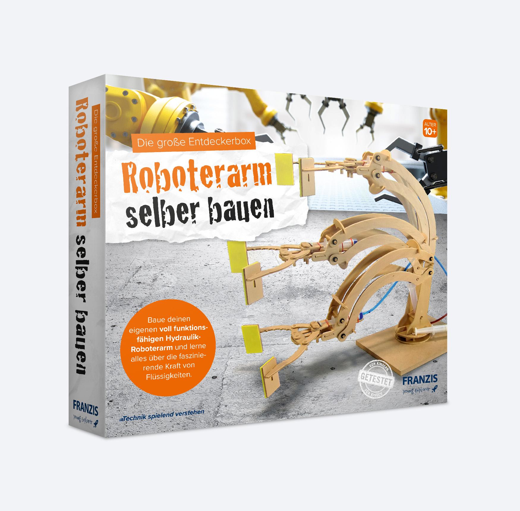 Hydraulik-Roboterarm