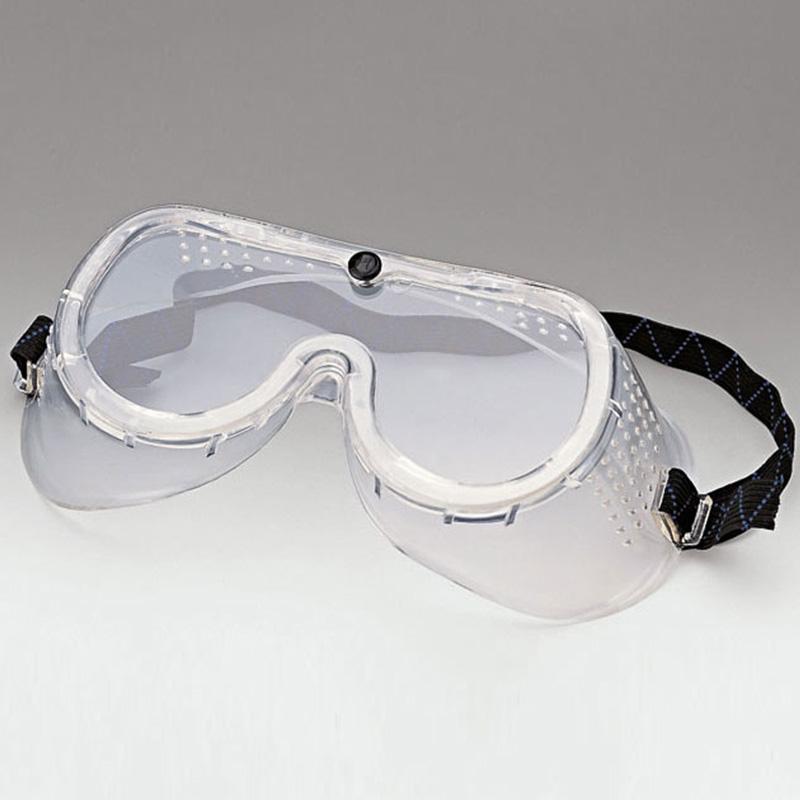 Beschermingsbril met kleurloose brillenglazen