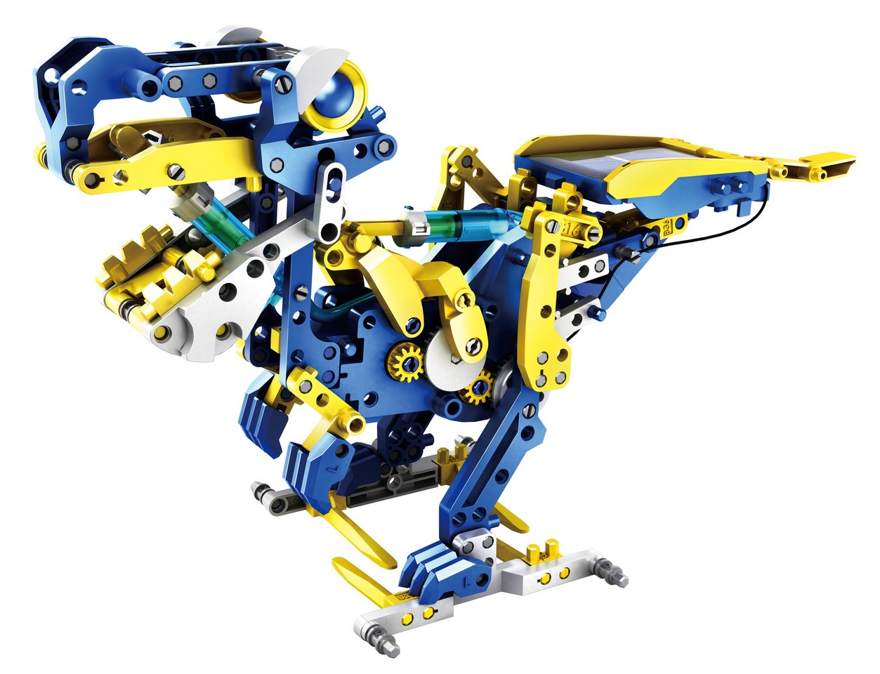 12 in 1 Solar Hydraulik Robot