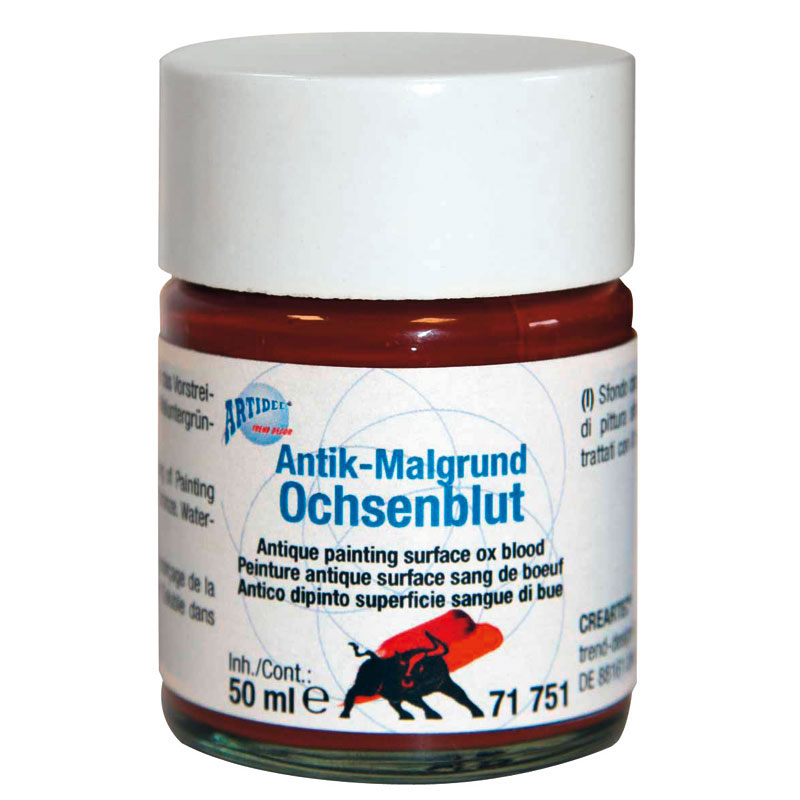 Antik-Malgrund Ochsenblut 50 ml