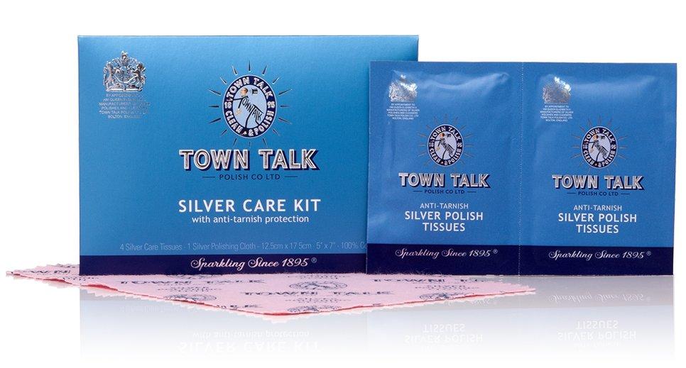 Mr Town Talk Silber Reinigungsset