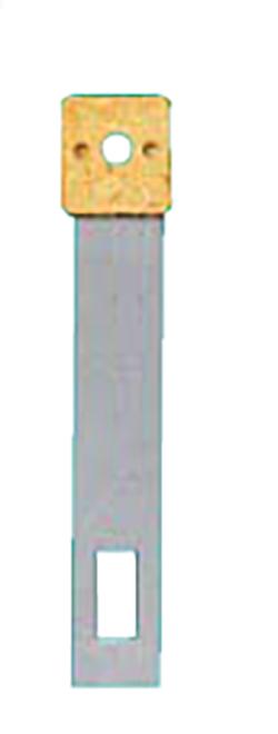 Pendelfeder Metall Stift-/Loch-Abstand:18 L:26mm B:4,5mm