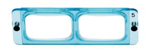 Lenzen hoofdloep 2.5x OptiVISOR