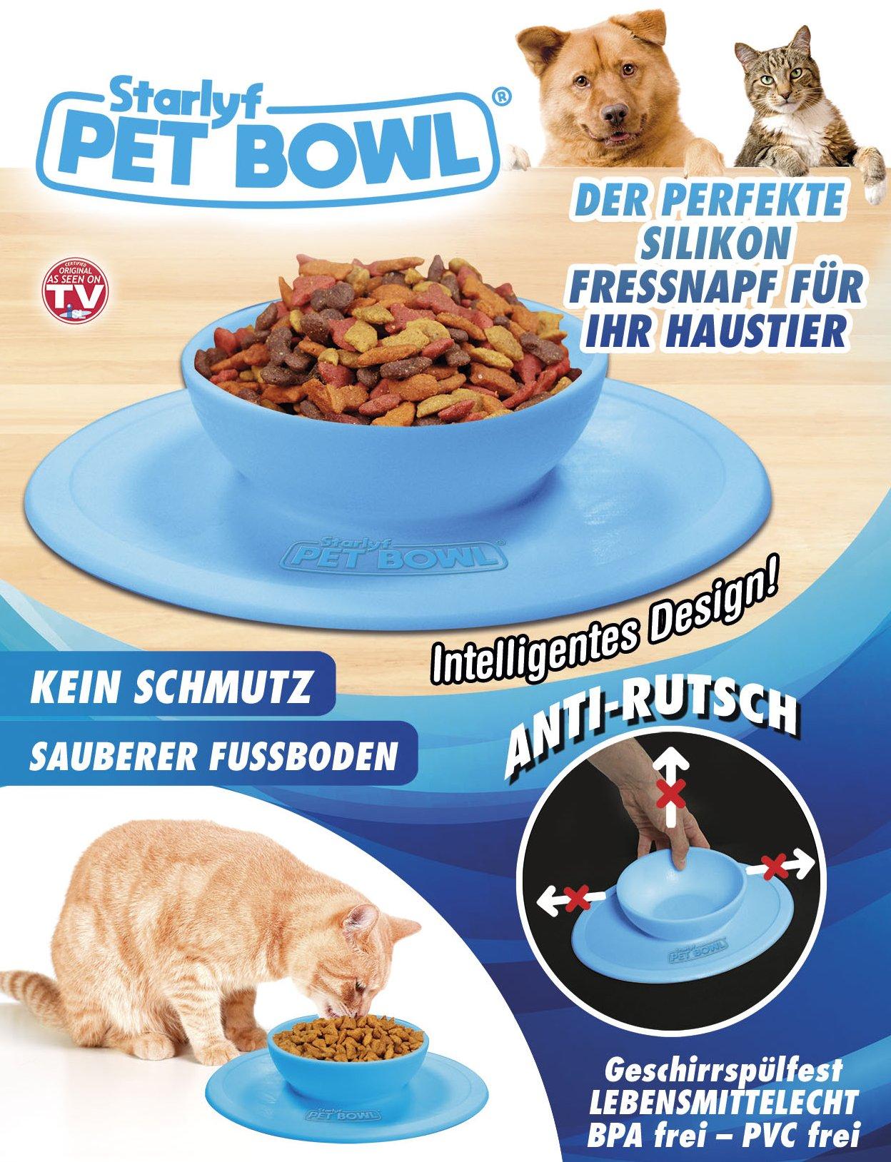 Pet Bowl - Der perfekte Silikon-Fressnapf für Ihr Haustier