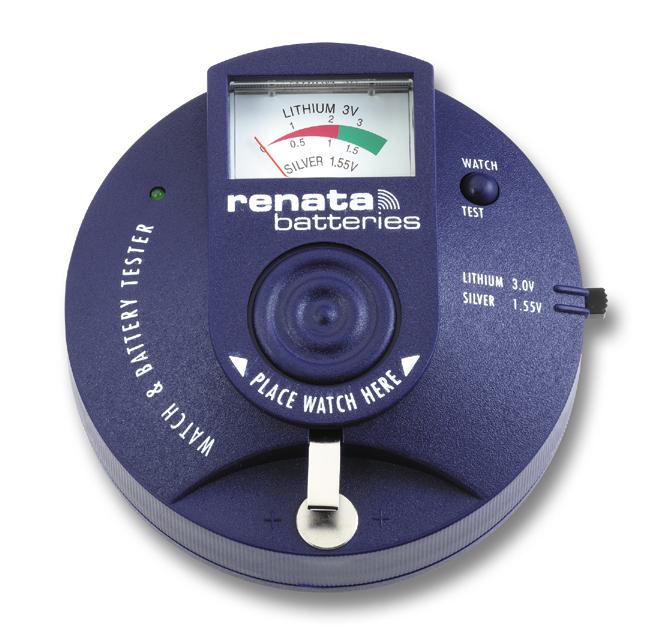 Batterijtester Renata