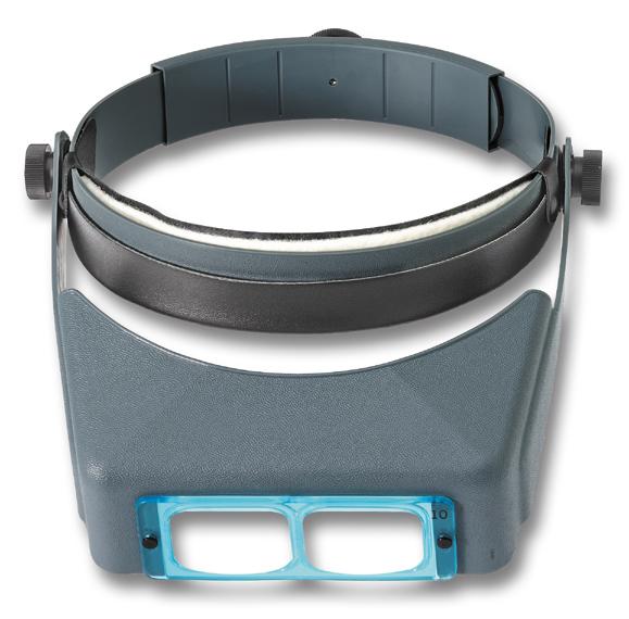 Binokulare Kopflupe 1,75x OptiVISOR