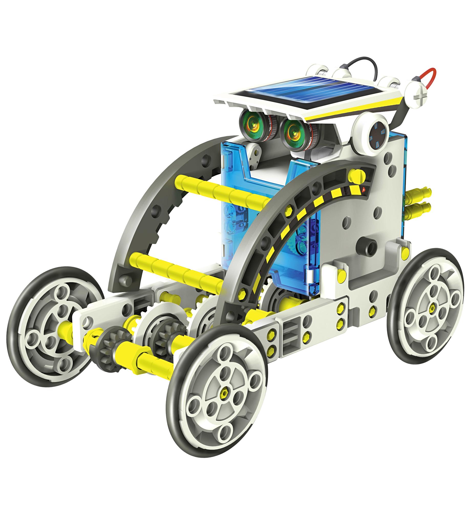Bausatz 14 in 1 Solar-Roboter