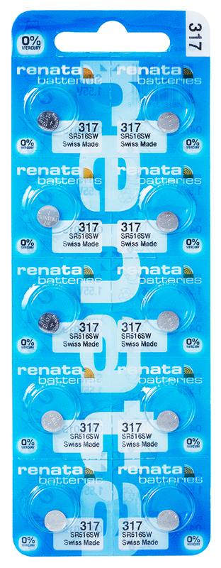 Renata 317 knoopcel multipack